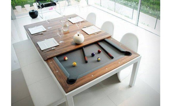 Pool Billiard Table Dining Conversion Top Convert Pool