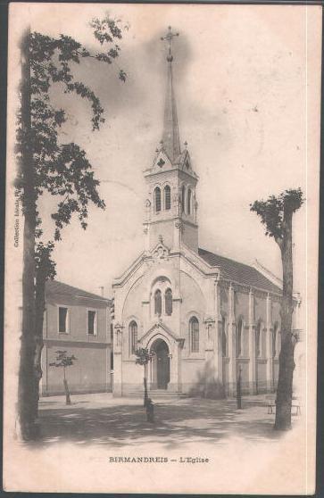 Birmandreis : L'église avant...!