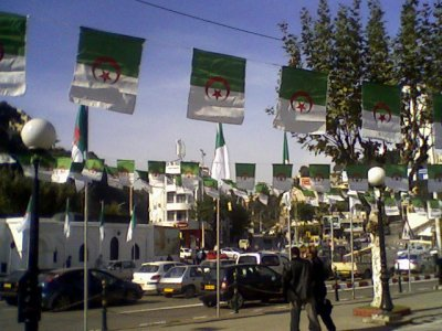 BIR MOURAD RAIS - Les drapeaux...!