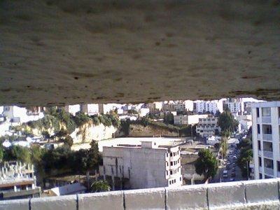 La vue du stade la sava ...( Mohammed Iguere mnt ) a partir du couloir...!