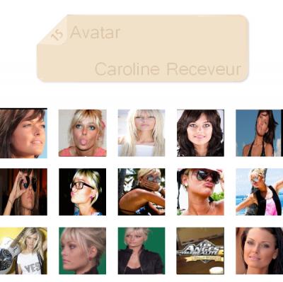 15 avatar theme : Caroline Receveur