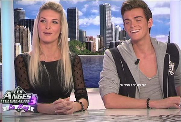 -  Vidéo  :  Marie et Geoffrey dans Les Anges de la télé réalité 3 , DONNE TON AVIS ?  -