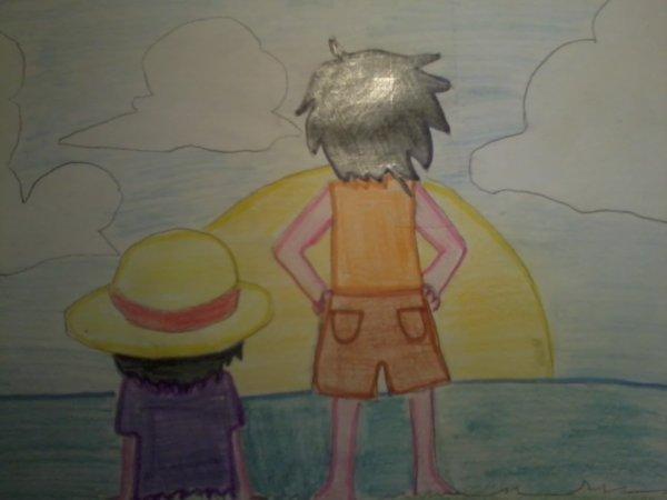 Quelques dessins que j'ai fait quand je m'ennuyé