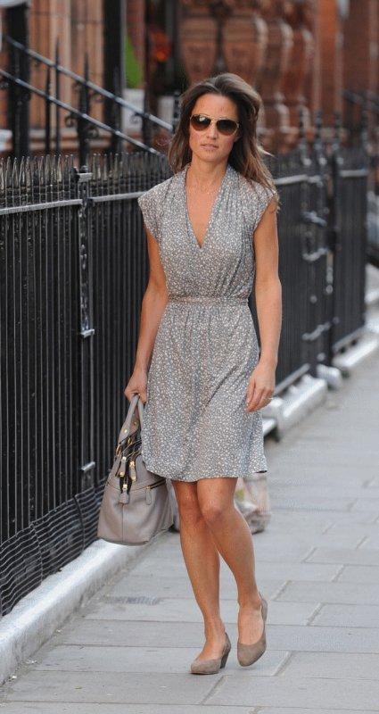 Pippa dans Londres en mai