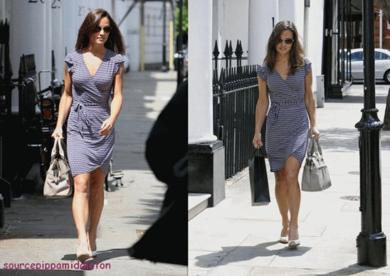 23/06/2011 ; Pippa faisant du shopping à Chelsea, puis à Kings Road