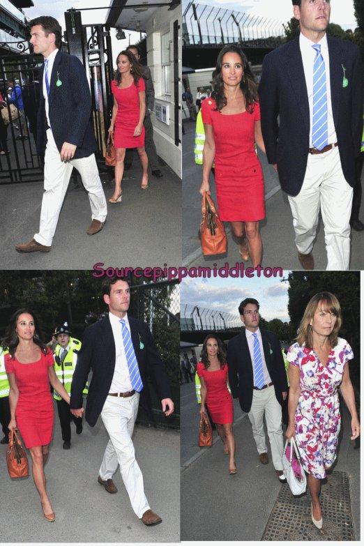 29/06/2011  Pippa à Wimbledon avec son (ancien) fiancé