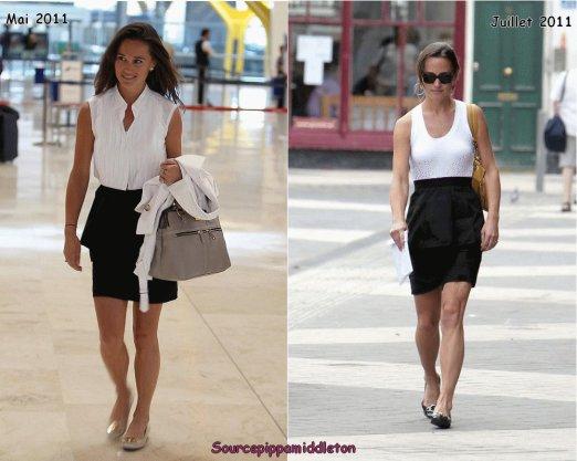04/07/2011  Pippa faisant des courses