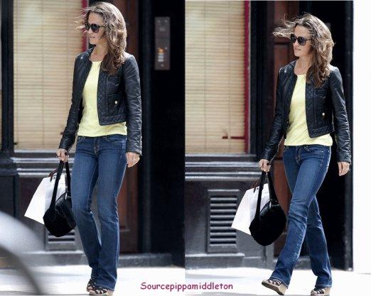 08/07/11  Pippa s'est fait une aprem shopping sur King Road a Londres