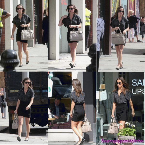 14/07/2011 Pippa dans Londres