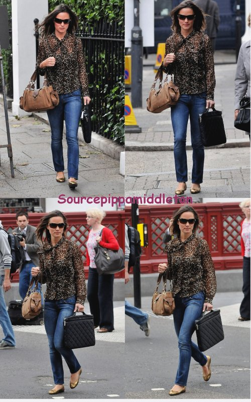Pippa a la Fashion week de Londres