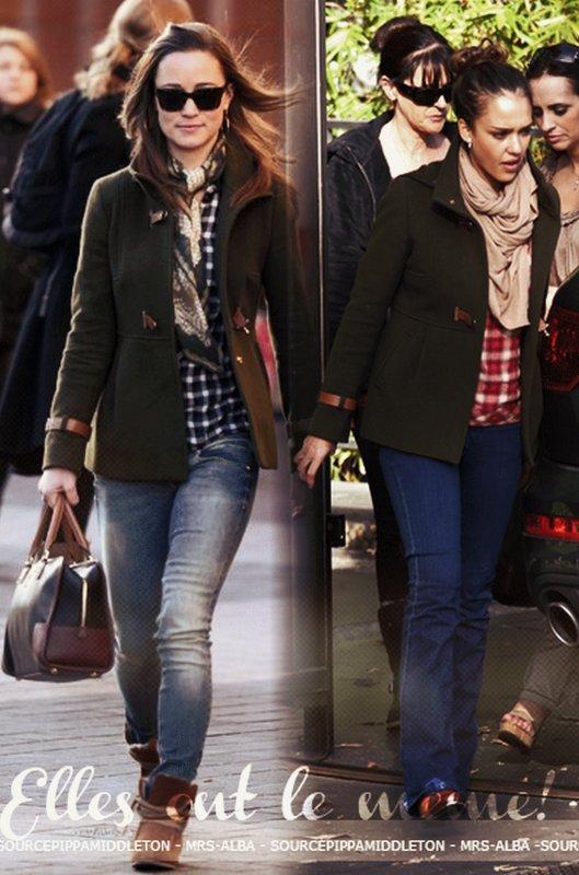 Pippa Middleton et Jessica Alba !!