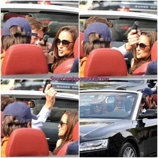 15/04/2012 Pippa de retour à Londres