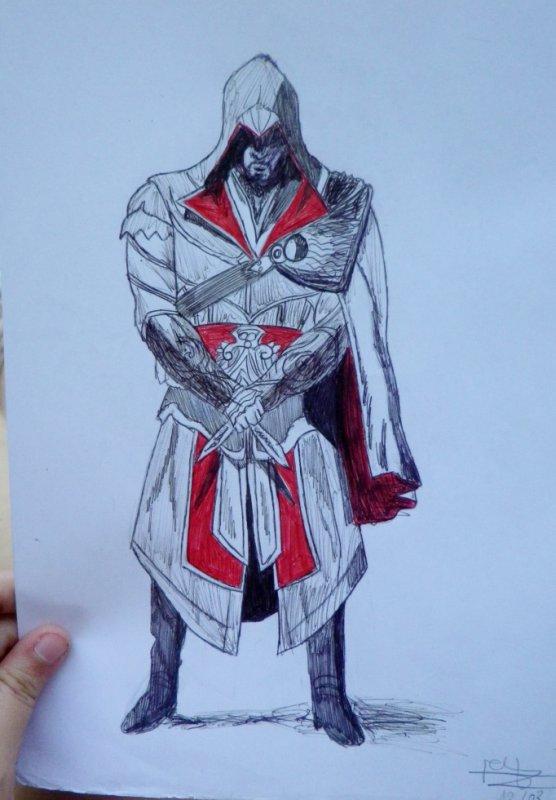 Dessin 6 Assassin S Creed Blog A Dessins