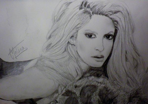 Shakira - Dessin 12