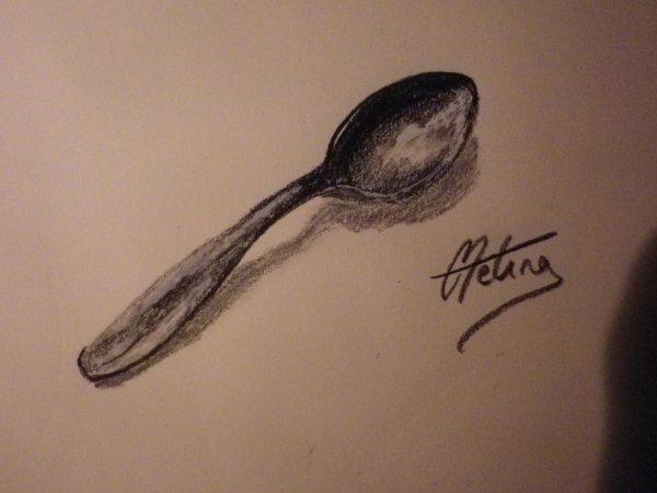 Dessin 14 - Une cuillere