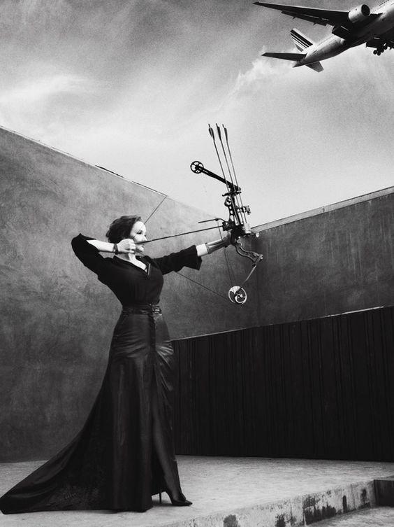 L'archer a un point commun avec l'homme de bien : quand sa flèche n'atteint pas le centre de la cible, il en cherche la cause en lui-même.  _Confucius