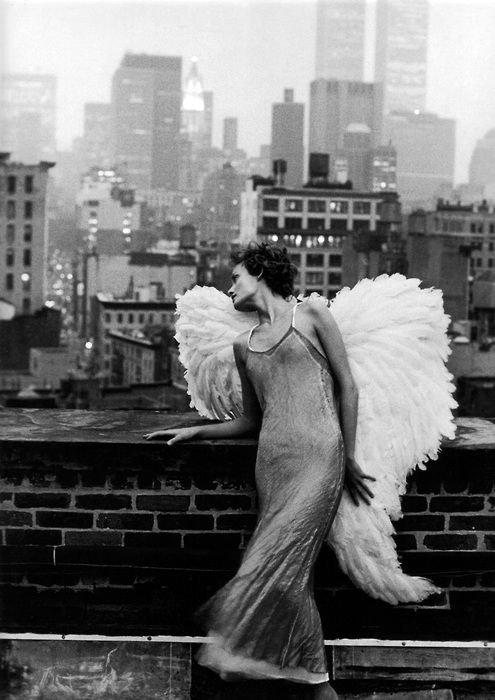 Saute... Et laisse toi pousser des ailes pendant ta chute. - Ray Bradbury