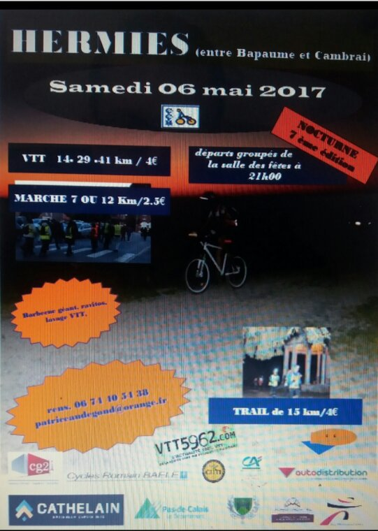 Programme ce week-end 06 et 07 mai 2017