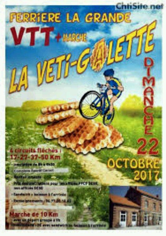 Rando VTT du 22 octobre