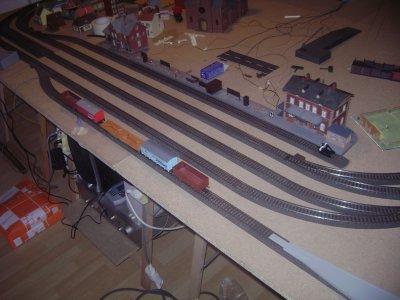 Amélioration de la gare de 3 quais -> 5 quais ( dont un enrailleur)