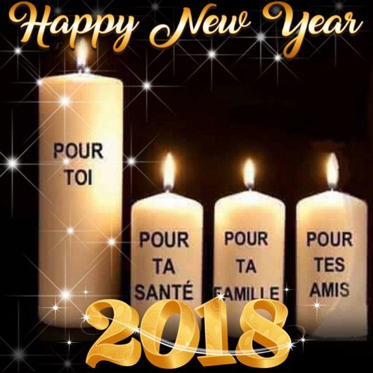 Bonne et heureuse année 2018?❤️???