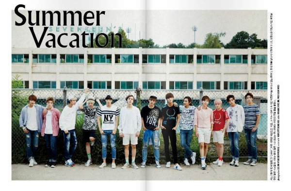 Seventeen Summer Vacation Photoshoot