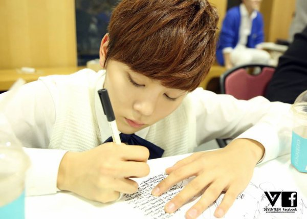 BOYSBE Photos Facebook Seungkwan