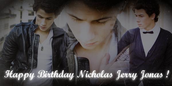 .     En ce 16 Septembre 2010, Nicholas Jerry Jonas a 18 ans !    --- Qu'est ce qu'on dit ?  .