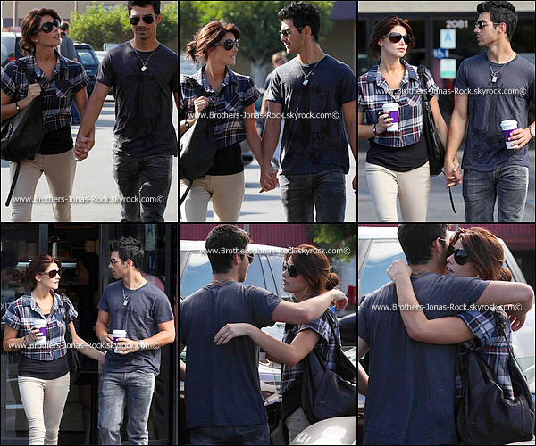 .    28/09/10 : Toujours Joe & Ashley faisant du shopping après avoir dîné ensembles, à Los Angeles. .