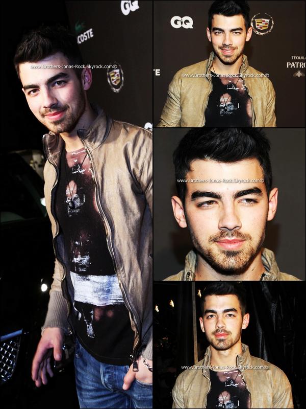 . Les Jonas Brothers sont de retour ! Découvrez les évènements aux quels ils ont assistés ce (04/02/11)  .
