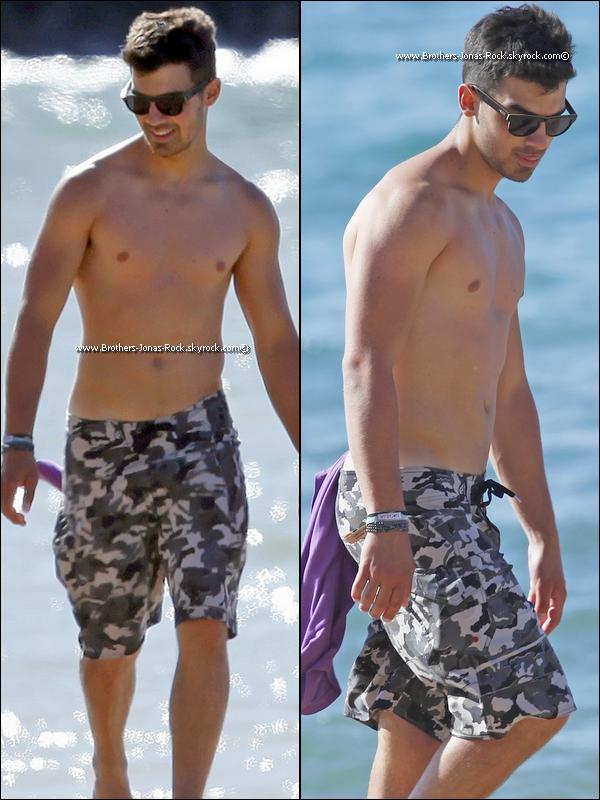 . 23/04/11 : A Hawaii, Joe & Nick se promène dans la plage. + Photos personnelles de leur séjour.  .