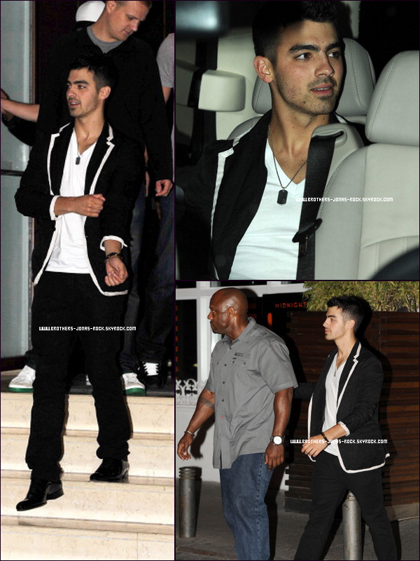 ". On ""rattrape"" les news de Joe Jonas. PART ONE  ."