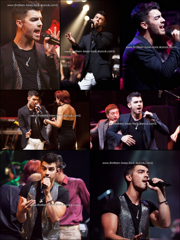 ". 27/08/11 : Joe performent ""Love Slayer"" ainsi que d'autres singles de son album au House of Blues.  ."