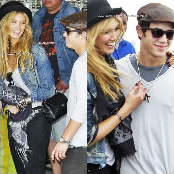 . 22/09/11: Nick & Delta visitent entre amoureux, la ville Rio de Janeiro au Bresil .  .