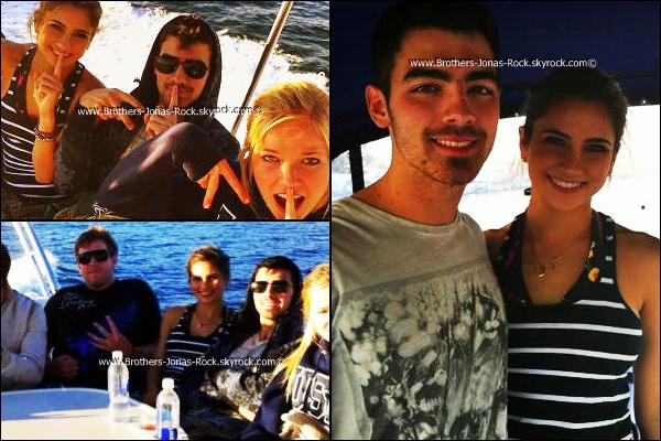 . 28/01/12 : Joe & ses amis se font une petite croisière en bateau dans Los Angeles.  .