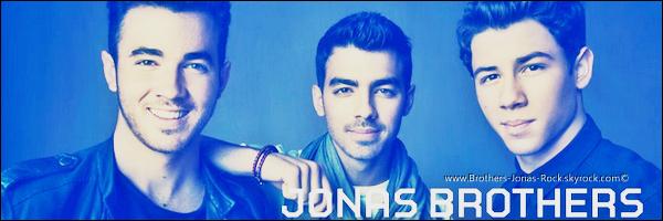 . Les Jonas Brothers sont de retour avec un nouveao logo & photoshoot datant de 2012.   .