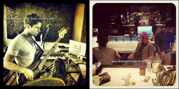.  Nouvelles photos des garçons en studio pour la préparation du 5em album.  .