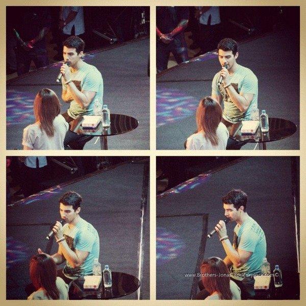 . 27/05/12 : Joe a donné son dernier concert & interview aux Philipines sur l'île de Cebu. .