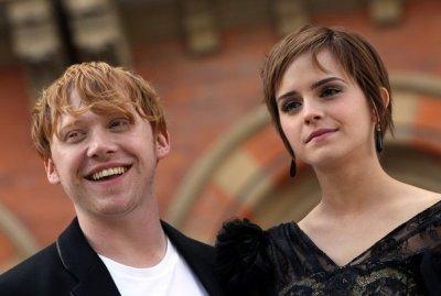 """Le """"couple"""" Emma Watson et Rupert Grint"""
