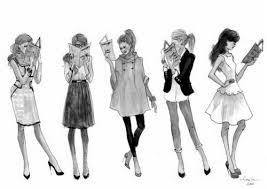 ♘ Mode : Comment avoir l'air plus mince. ♘
