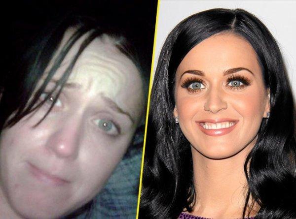 Voici quelque star  sans leur maquillage   :)