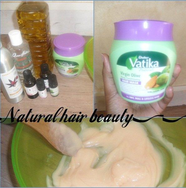 Vatika Olive virgin Mask Almond / Henna