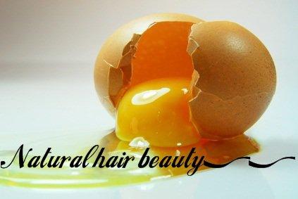 Les protéines pour la pousse des cheveux , partie 1 : L'oeuf