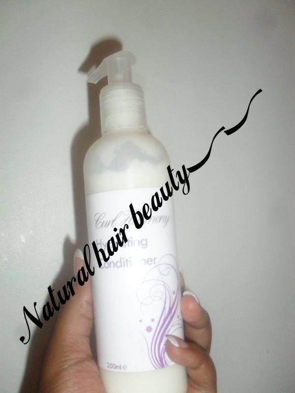 Mon avis produit : Curl Harmony hydrating Conditioner