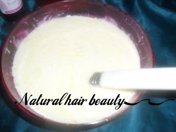 Soin protéiné : Lait de coco & huile végétale (l)