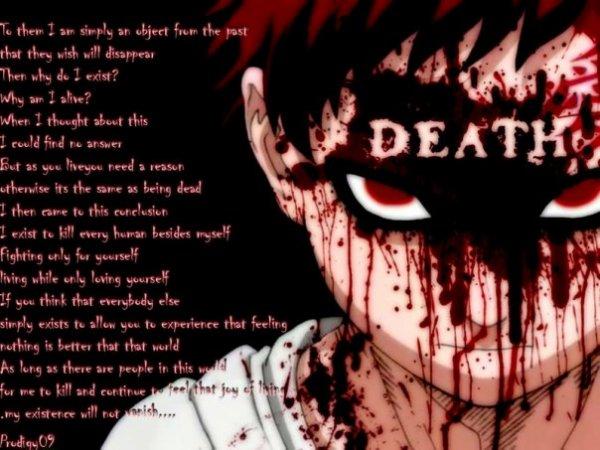 Wolfgang Chap 9 : La douleur c'est ce qui te fais sentir que tu est en vie ...