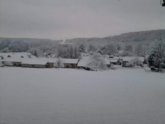 Louviers sous la neige !