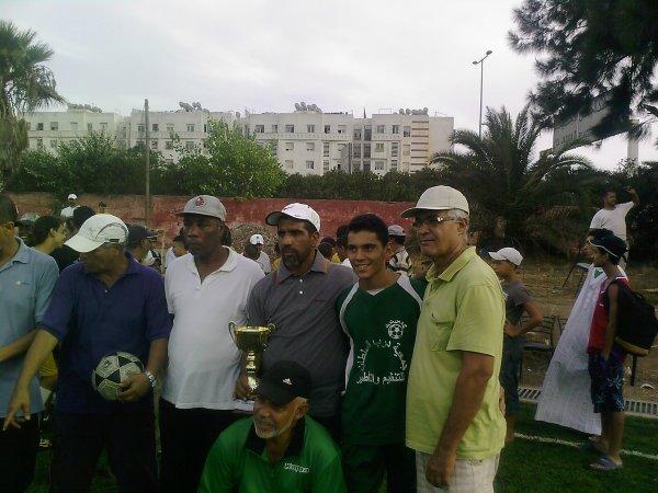 bennas le capitain de l'équipe +lmarehoum + lboudali
