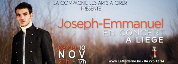 Joseph-Emmanuel -  En concert A LIÈGE