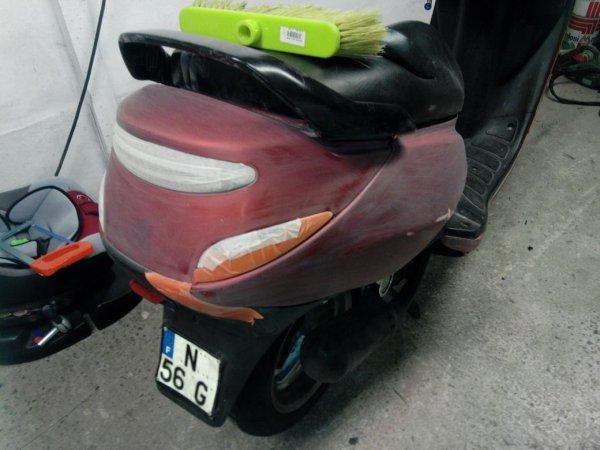 Prépa du scooter